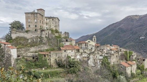 Balestrino, the ancient ghost village