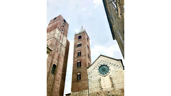 "Albenga, ""the city of towers"""