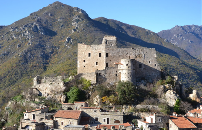 Enchanting Castelvecchio of Rocca Barbena