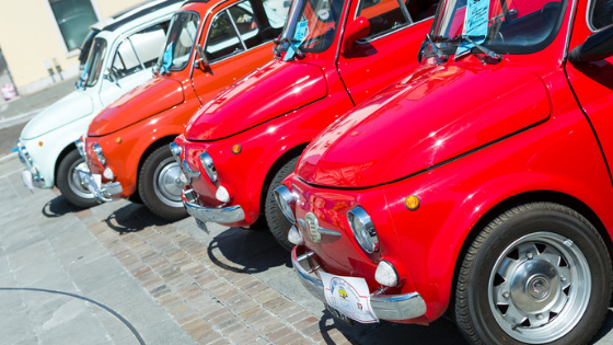 The36th Fiat 500 International Meeting in  Garlenda