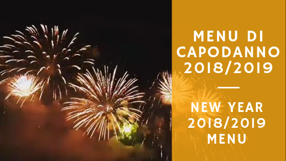 New Year's Menu at Camping Baciccia in Ceriale