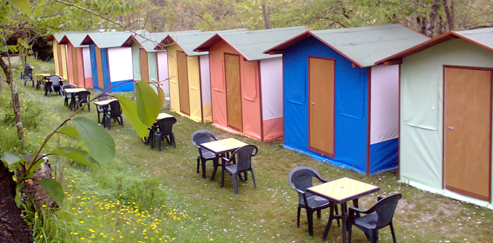 Cinque Terre tent to rent for 2 persons
