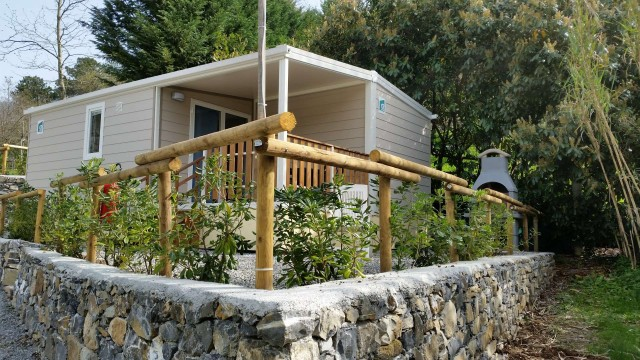 "Holiday in Cinque Terre , Bungalow Mobilhome ""GIRASOLE"", more comfort !"