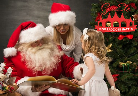 WEEKEND with Santa Claus in the Christmas Village! Santa Claus has already arrived at the Village: give your children a wonderful memory forever!