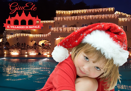 Christmas Magic Offer - Holidays at Santa Claus Village in Liguria in Finale Ligure
