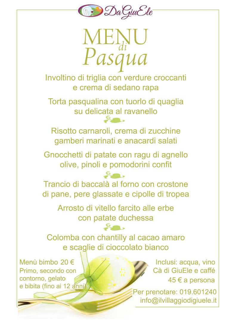 Menu Cena Di Natale 2019.Gourmet Menu At Finale Ligure