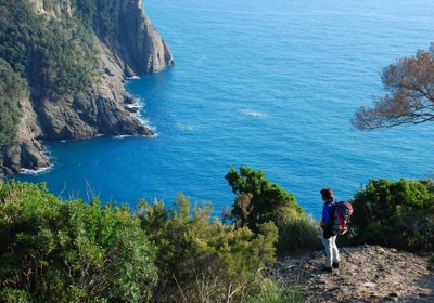 Trekking a Rapallo in Liguria