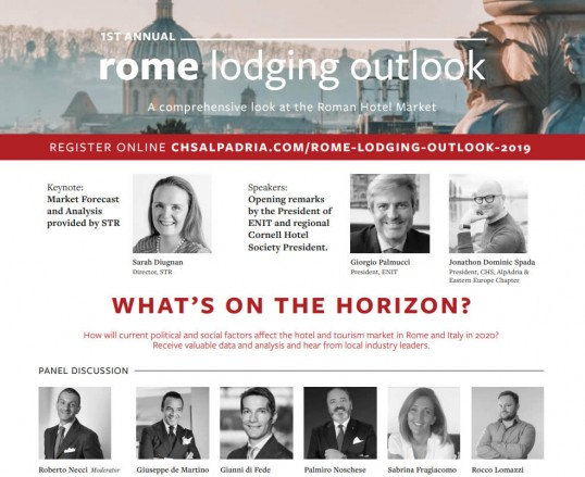 1st annual - rome lodging outlook - A comprehensive look at the Roman Hotel Market