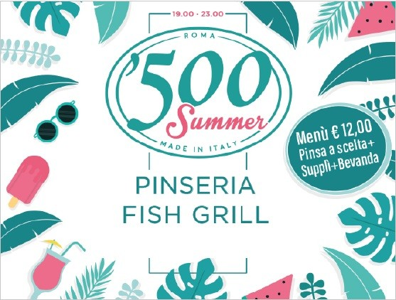 '500 Summer - A New offer for Summer 2019